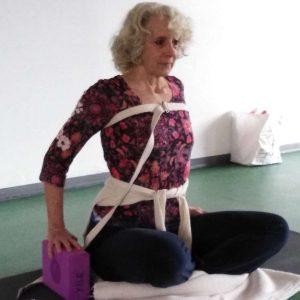 Carte de 5 cours collectifs de Yoga avec Cathy Boyer