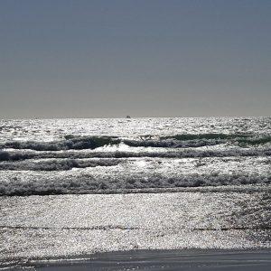 Palavas, la mer argentée