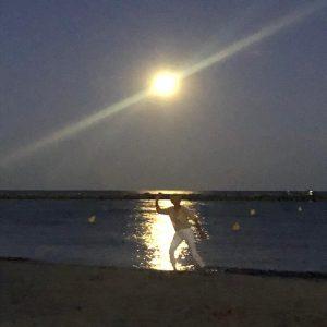Palavas, la nuit